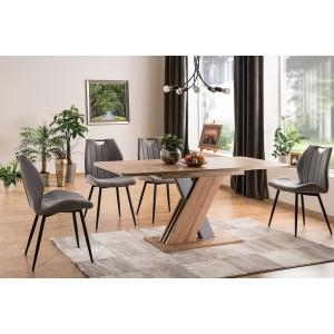 S / Exel Τραπέζι ανοιγόμενο 140/180Χ85Χ76