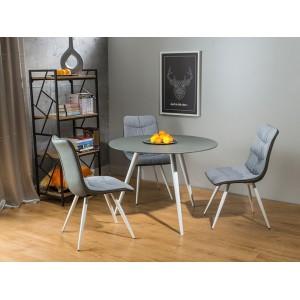 S / Evita τραπέζι στρογγυλό 100X100X76