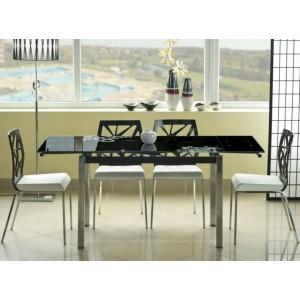 S / GD-017 τραπέζι κουζίνας 110/170Χ74Χ75