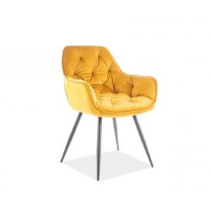 S / Cherry Velvet καρέκλα 45Χ45Χ47/83