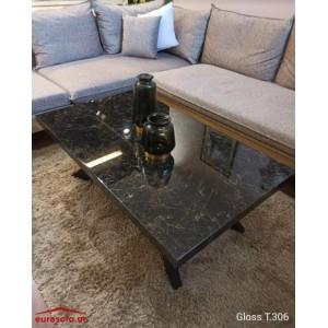 Gloss T.306 τραπεζάκι σαλονιού 120x70x42 cm