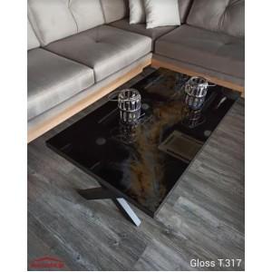 Gloss T.317 τραπεζάκι σαλονιού 120x70x45 cm