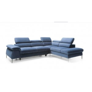 Blues καναπές γωνία με κρεβάτι και αποθηκευτικό χώρο 279x212x75/94 cm