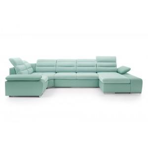 Cuba II Καναπές σε σχήμα Π με κρεβάτι και αποθηκευτικό χώρο