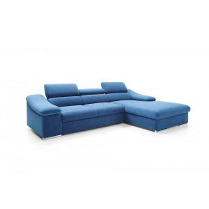 Massimo Καναπές γωνία με κρεβάτι 284 x 188 x 71/89 cm