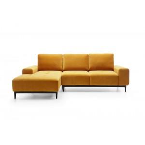 VERO Καναπές γωνία με κρεβάτι 266 x 175 x 74/93 cm