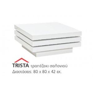 S/Trista τραπεζάκι σαλονιού 80x80x42cm