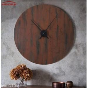 Mat C.108 ρολόι τοίχου 90 cm