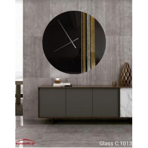 Glass C.1013 ρολόι τοίχου 90 cm