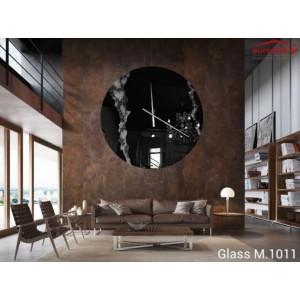 Glass M.1011 ρολόι τοίχου 90 cm