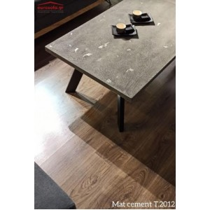 Mat cement T.2012 τραπεζάκι σαλονιού 110x70x45 cm