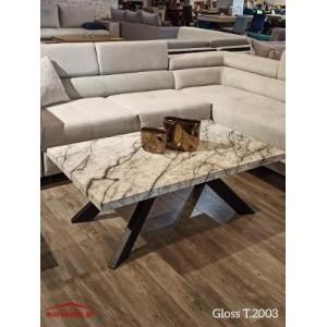 Gloss T.2003 τραπεζάκι σαλονιού 120x70x45 cm