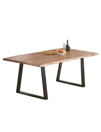 Τραπέζι ΖΕΑ7100,S / ΔΙΑΣΤΑΣΕΙΣ 200x95x75 cm Πάχος +/- 2,5cm